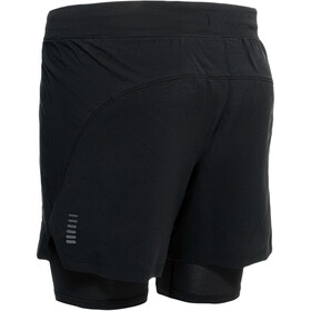 Under Armour Isochill Run 2-In-1 Shorts Men, czarny